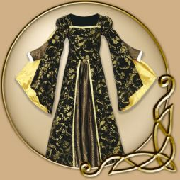 Costume - Gold and Black Ball Gown